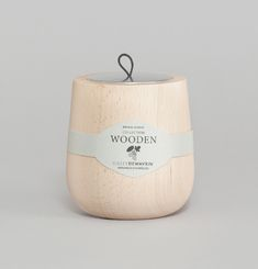 Bougie Wooden - Lait De Figue