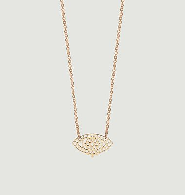 Collier pendentif en or rose Mini Ajna