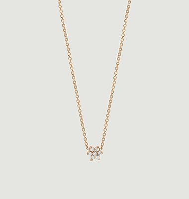 Collier Mini Star en diamant