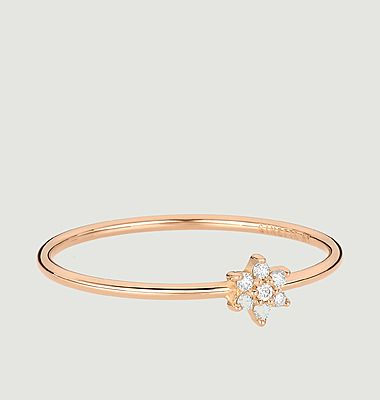 Bague Mini diamant Star