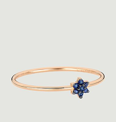 Bague Mini sapphire Star