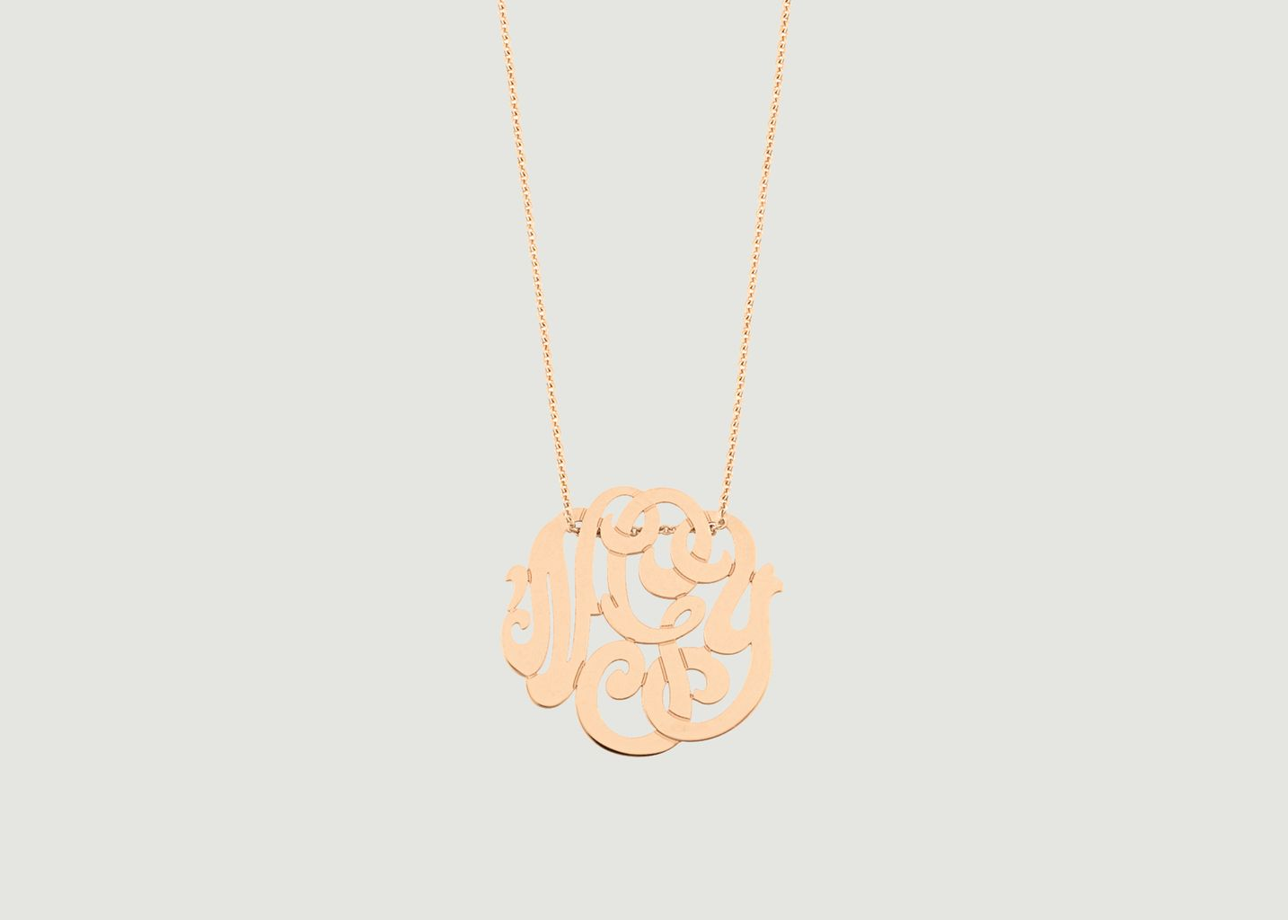 Baby Monogram Necklace - Ginette NY