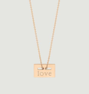 Collier Mini Love