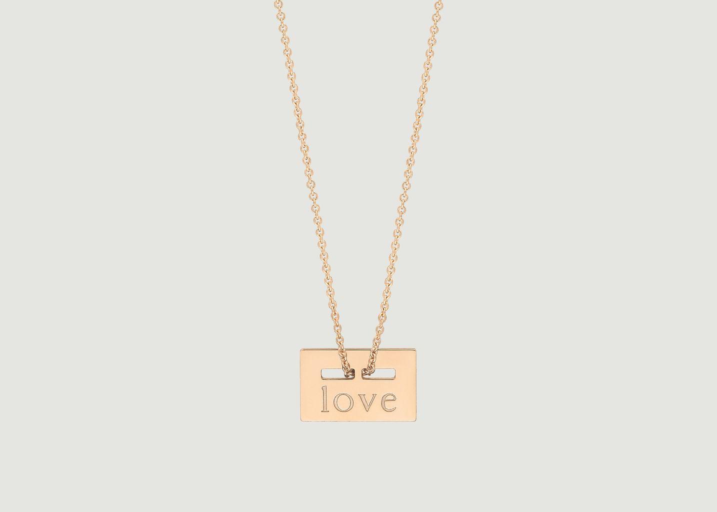 Collier Mini Love - Ginette NY