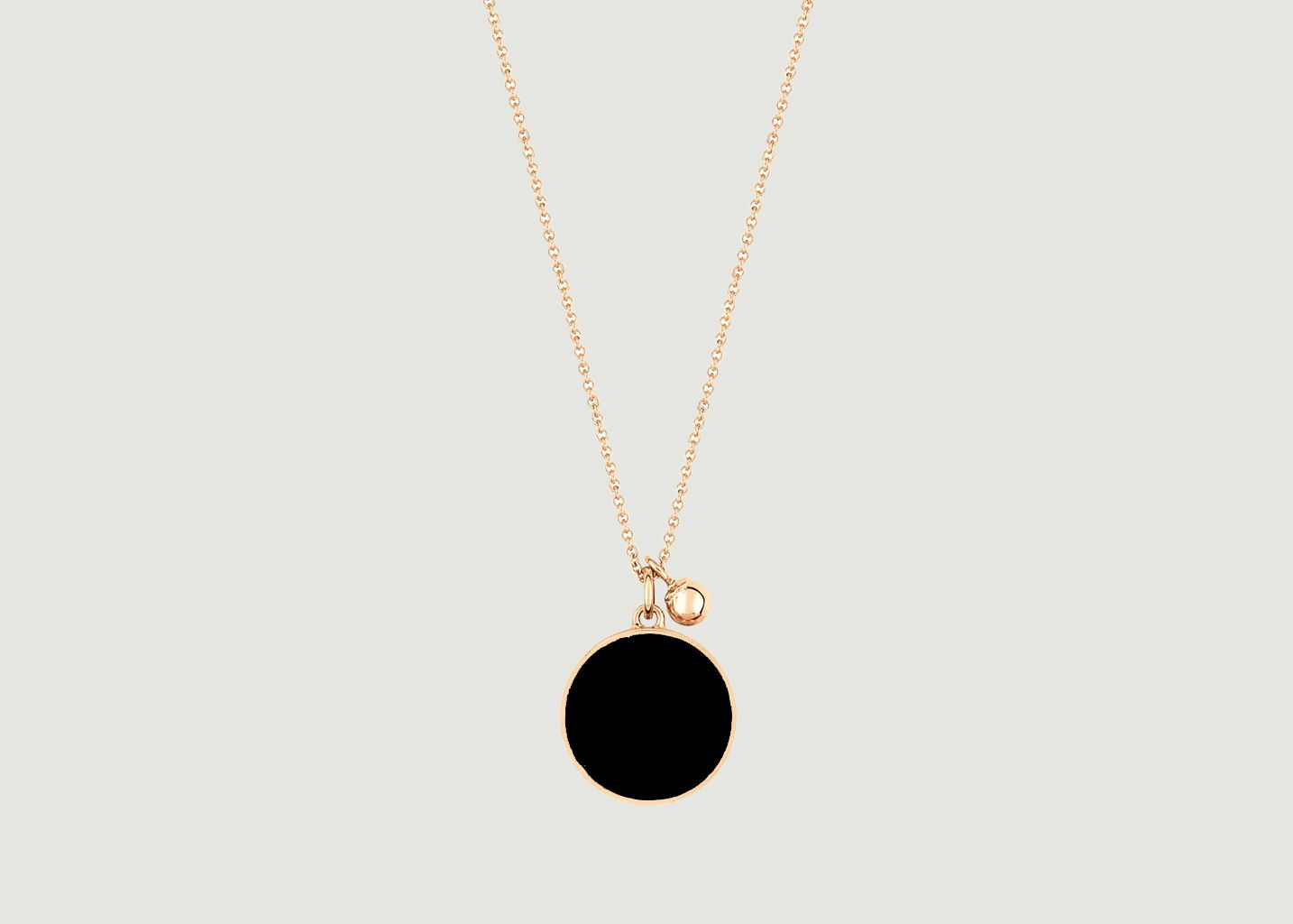 Collier Ever Onyx - Ginette NY