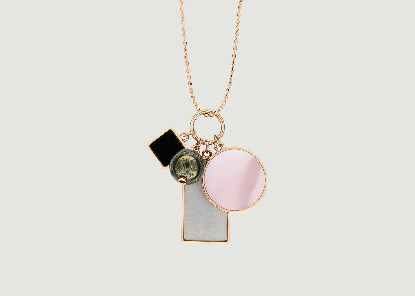 Collier Ever Frost Charm - Ginette NY