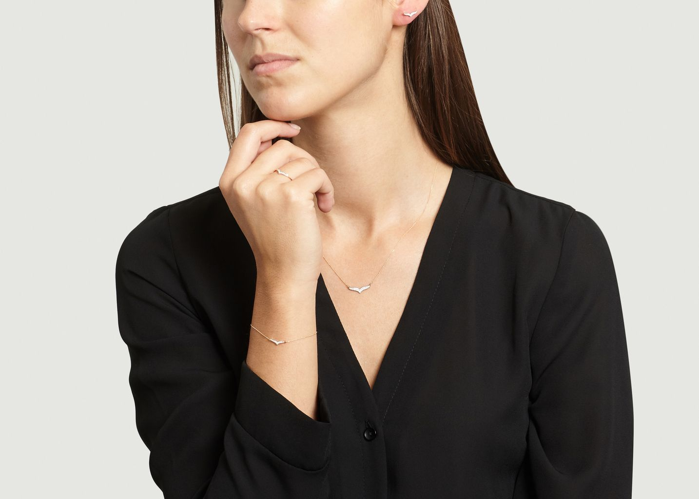 Bague Wise Diam - Ginette NY