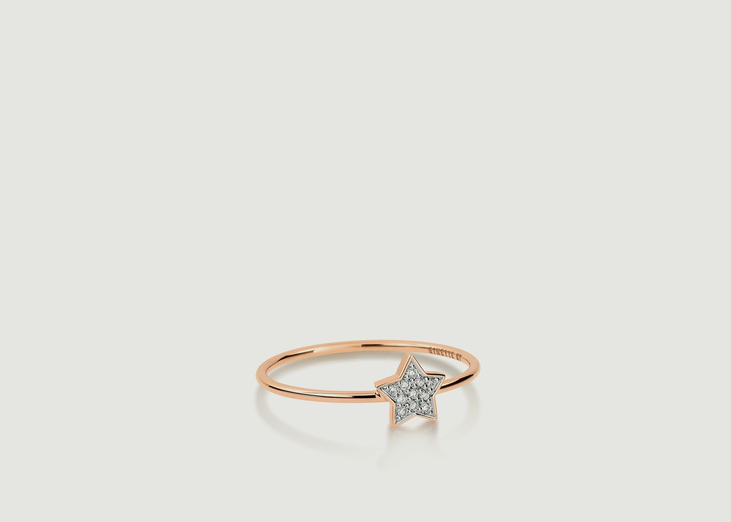 Bague Tiny Diamond Star - Ginette NY