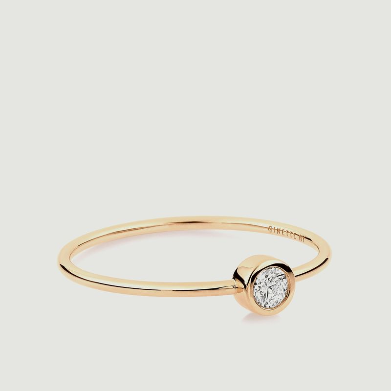 Bague Solitaire Diamant - Ginette NY