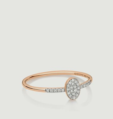 Sequin Diamond Ring