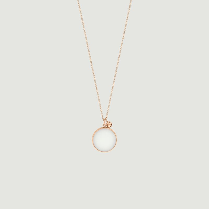 Collier Disc agate - Ginette NY