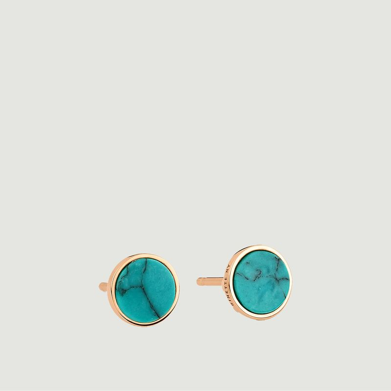 Boucles d'oreilles Ever Disc - Ginette NY
