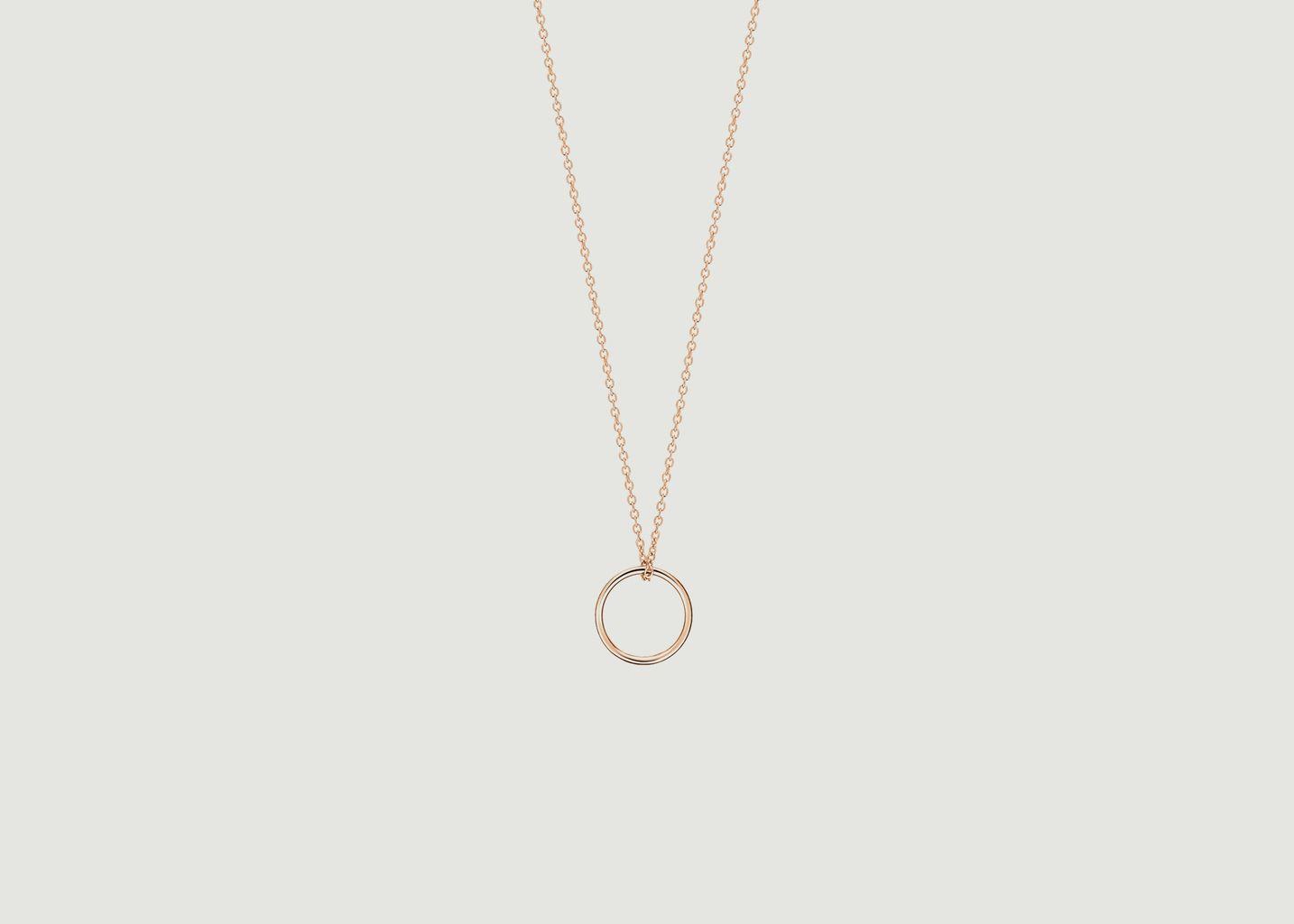 Collier Tiny Circle - Ginette NY