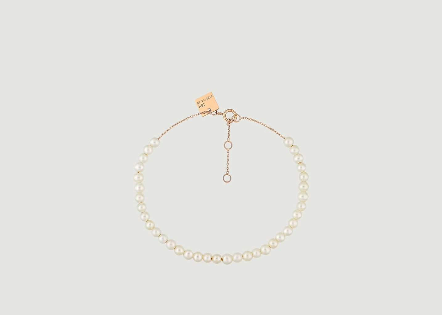 Bracelet Maria Mini Pearl - Ginette NY