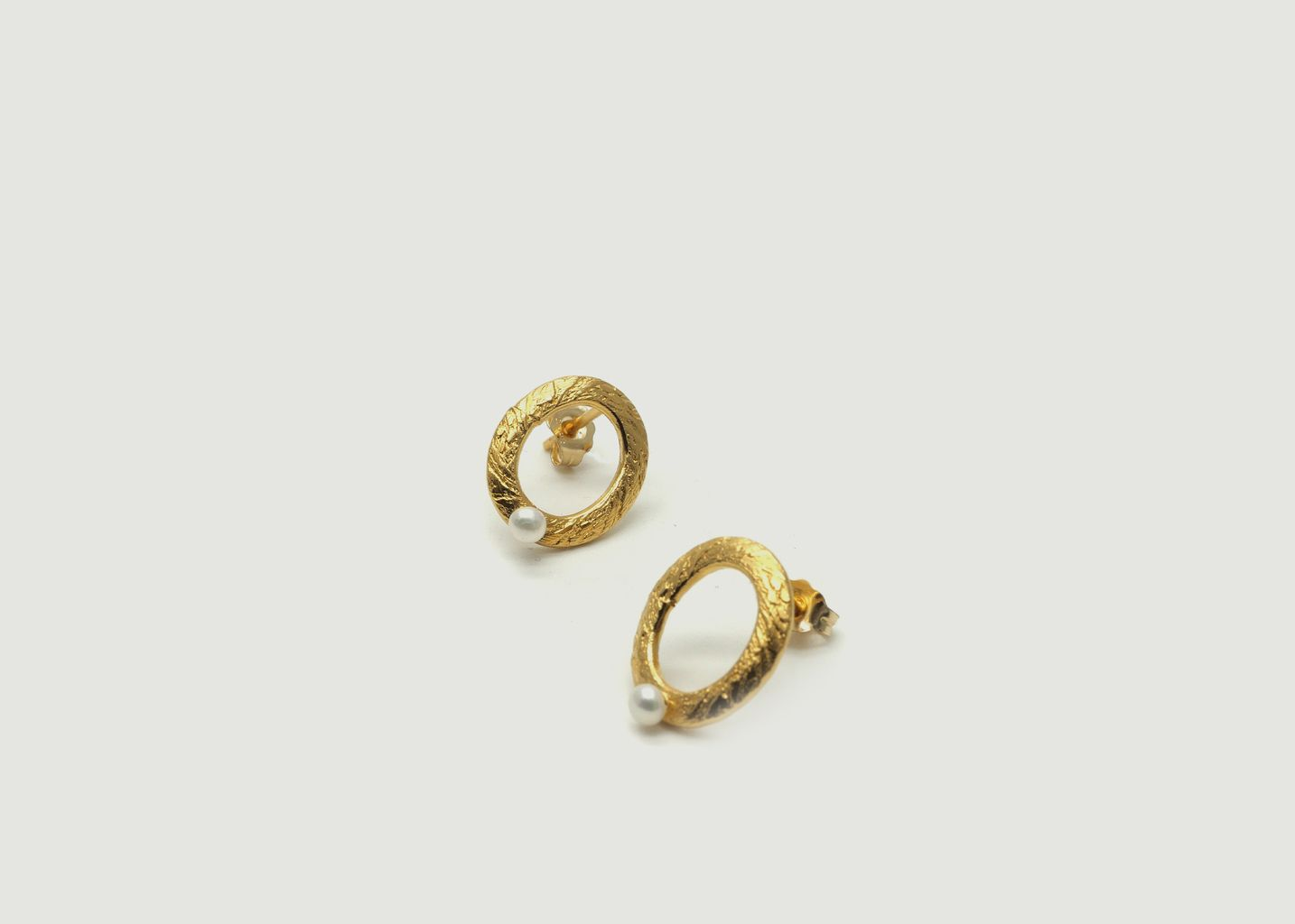 Boucles d'oreilles Puces Vic - Gisel B.