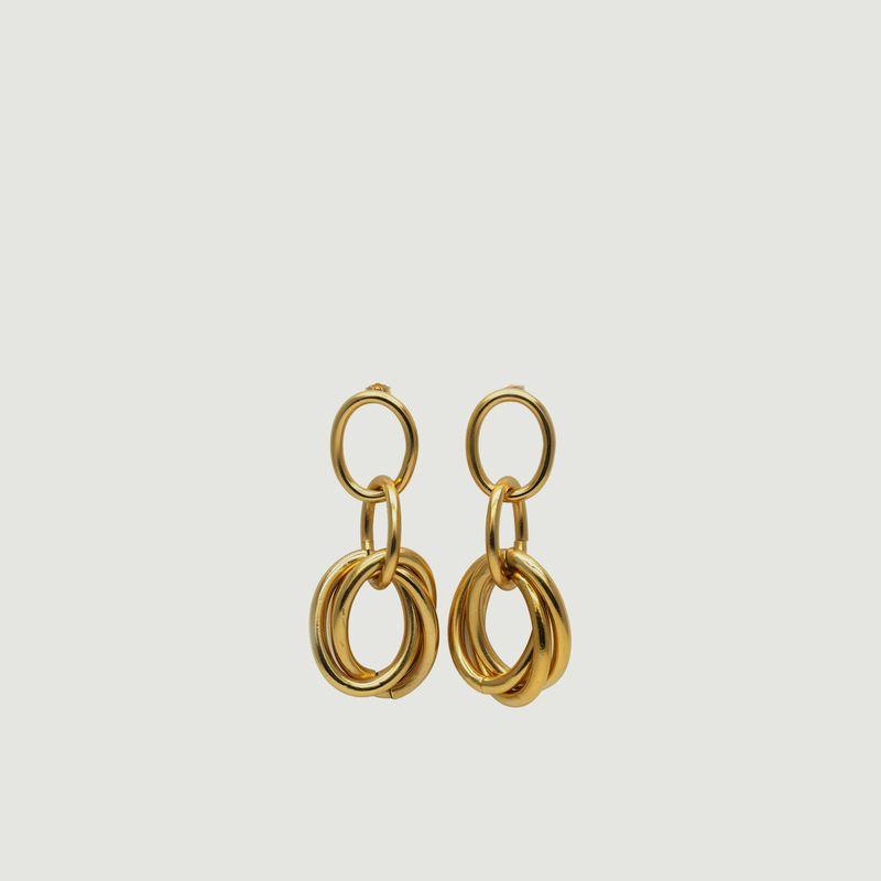Boucles d'oreilles pendantes Elisabeth - Gisel B.
