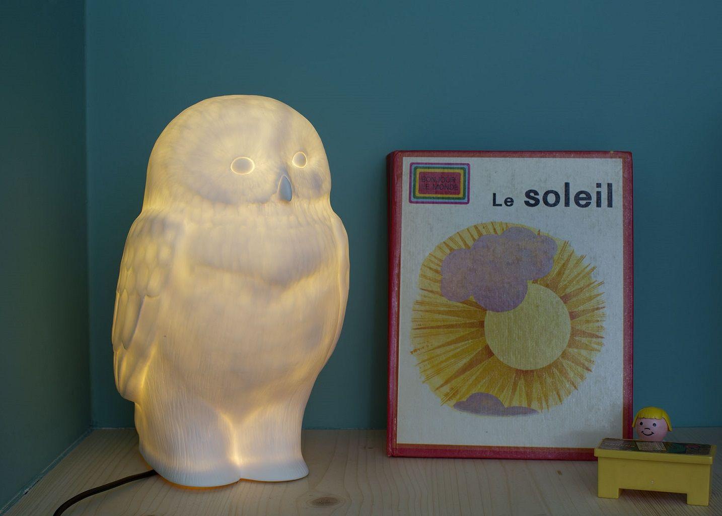 Veilleuse Akira la Chouette  - Goodnight Light