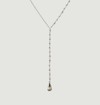 Collier Lariat Quartz