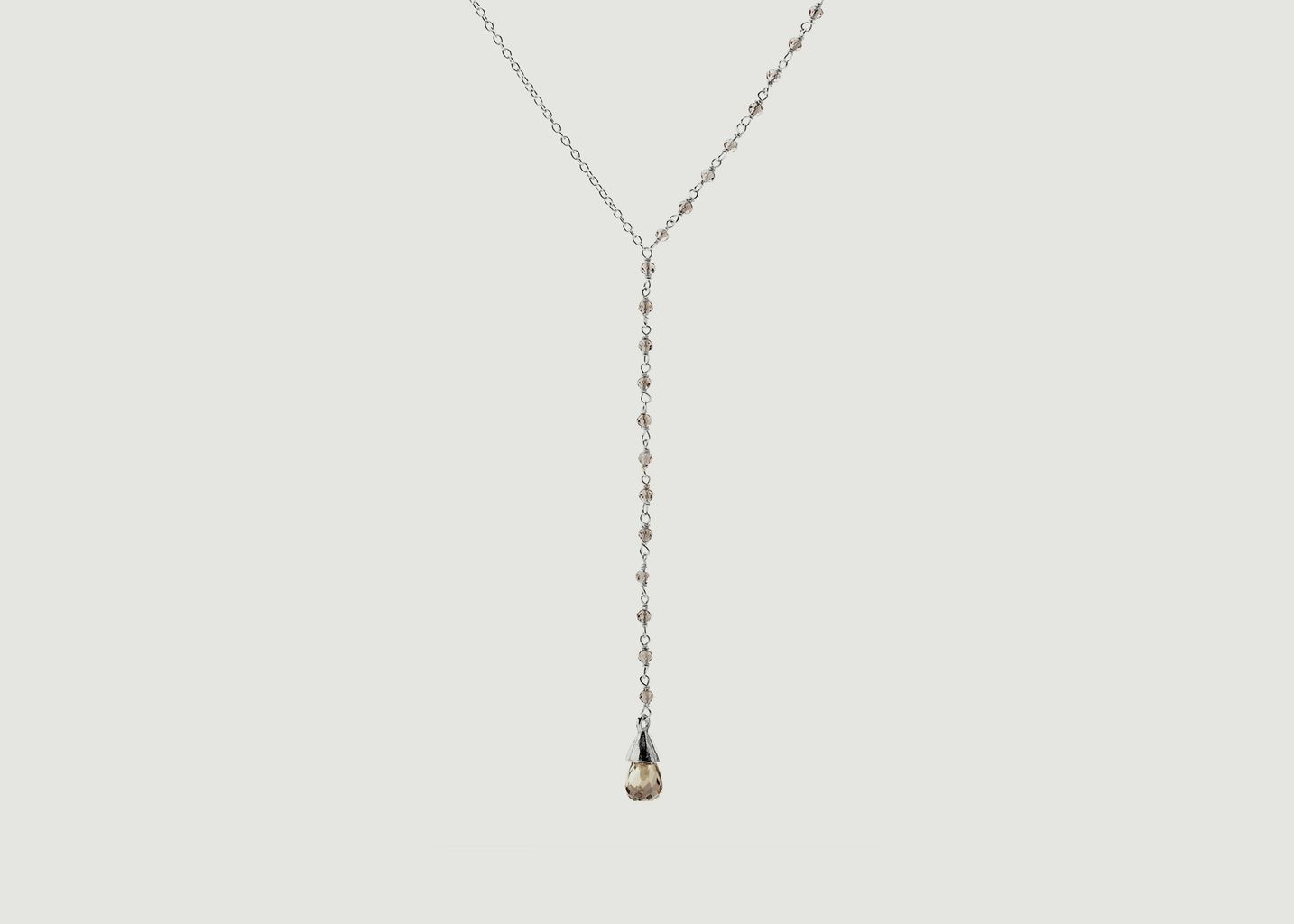 Collier Lariat Quartz - Goyal Paris