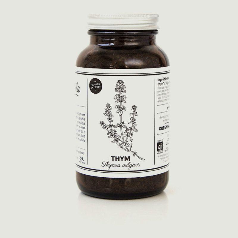 Bocal De Feuilles De Thym Bio Français 60 g - GreenMa