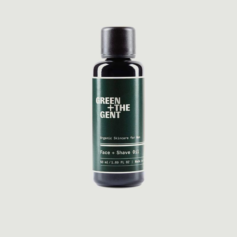Huile Visage et Rasage - Green Plus the Gent