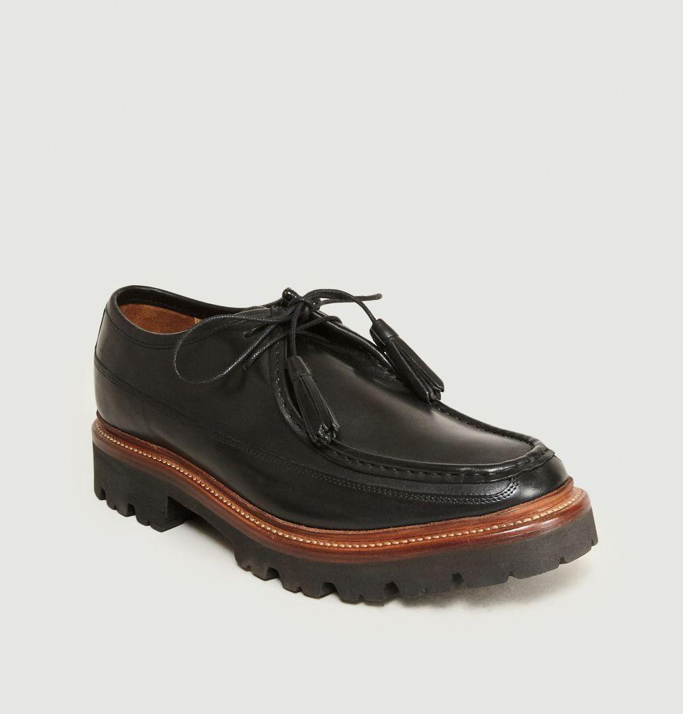 Chaussures Bennett Noir Grenson   L'Exception