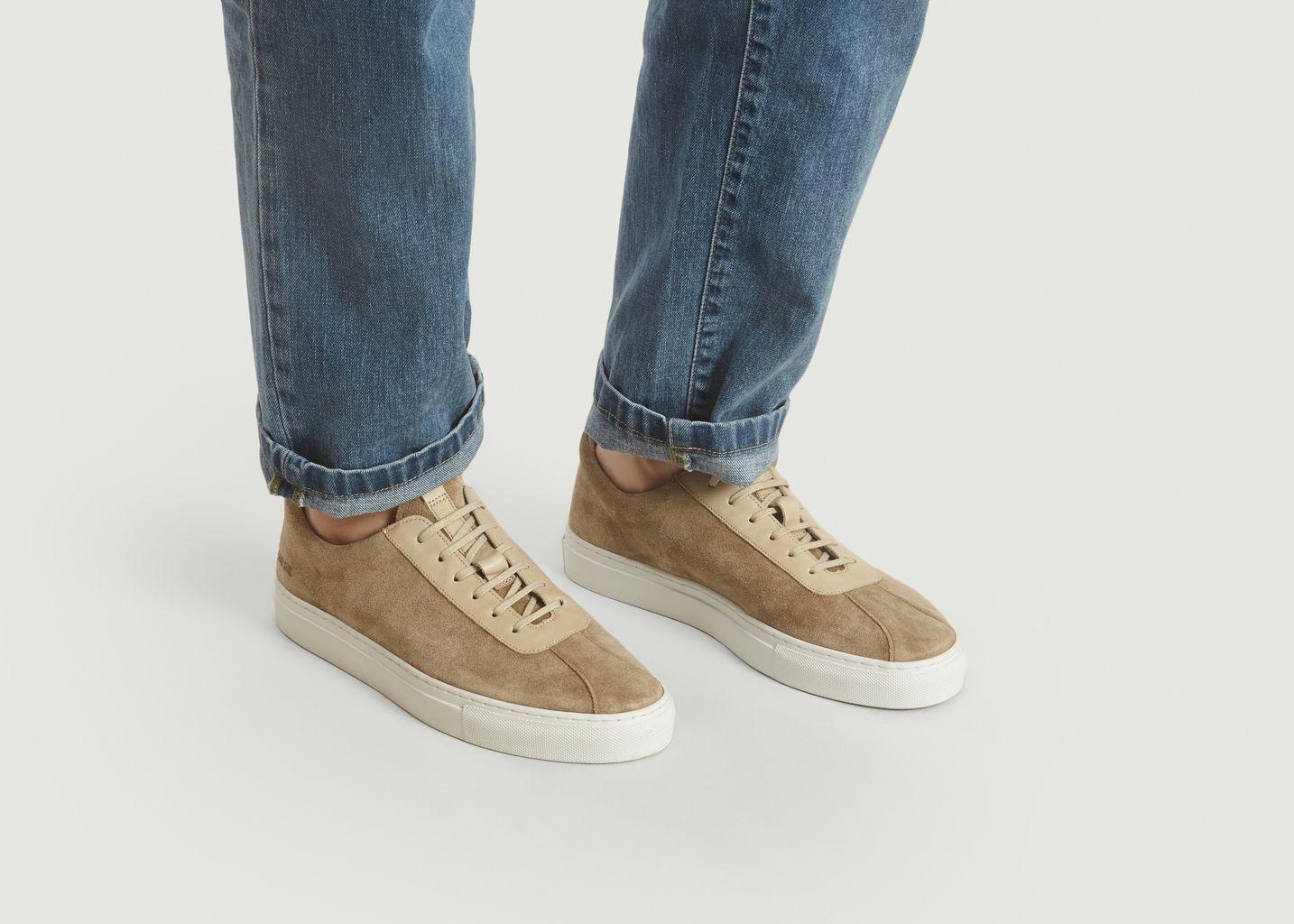 Sneakers 1 En Cuir Suédé - Grenson