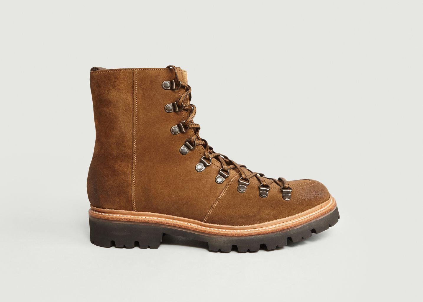 b9d09ddd4dd Brady Mountain Boots Brown Grenson