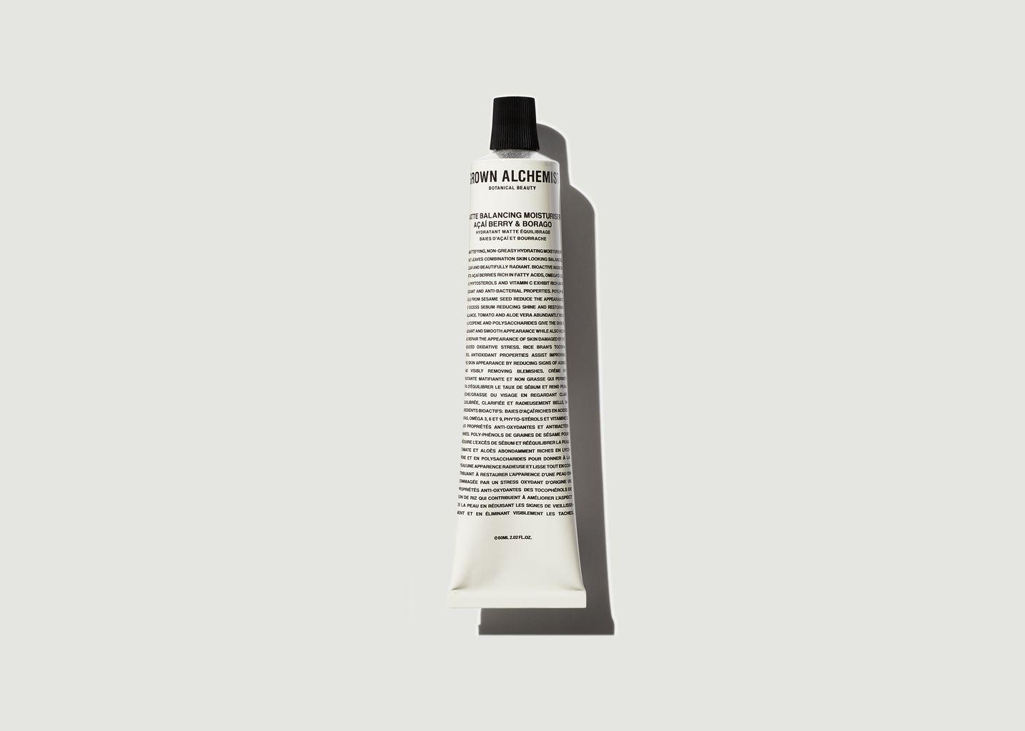Hydratant matte d'équilibre 60ml - Grown Alchemist