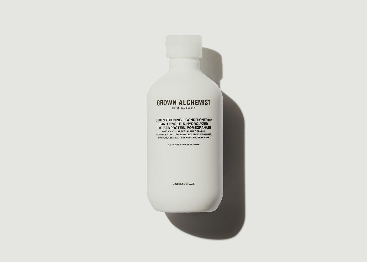 Après-shampoing fortifiant 500ml - Grown Alchemist