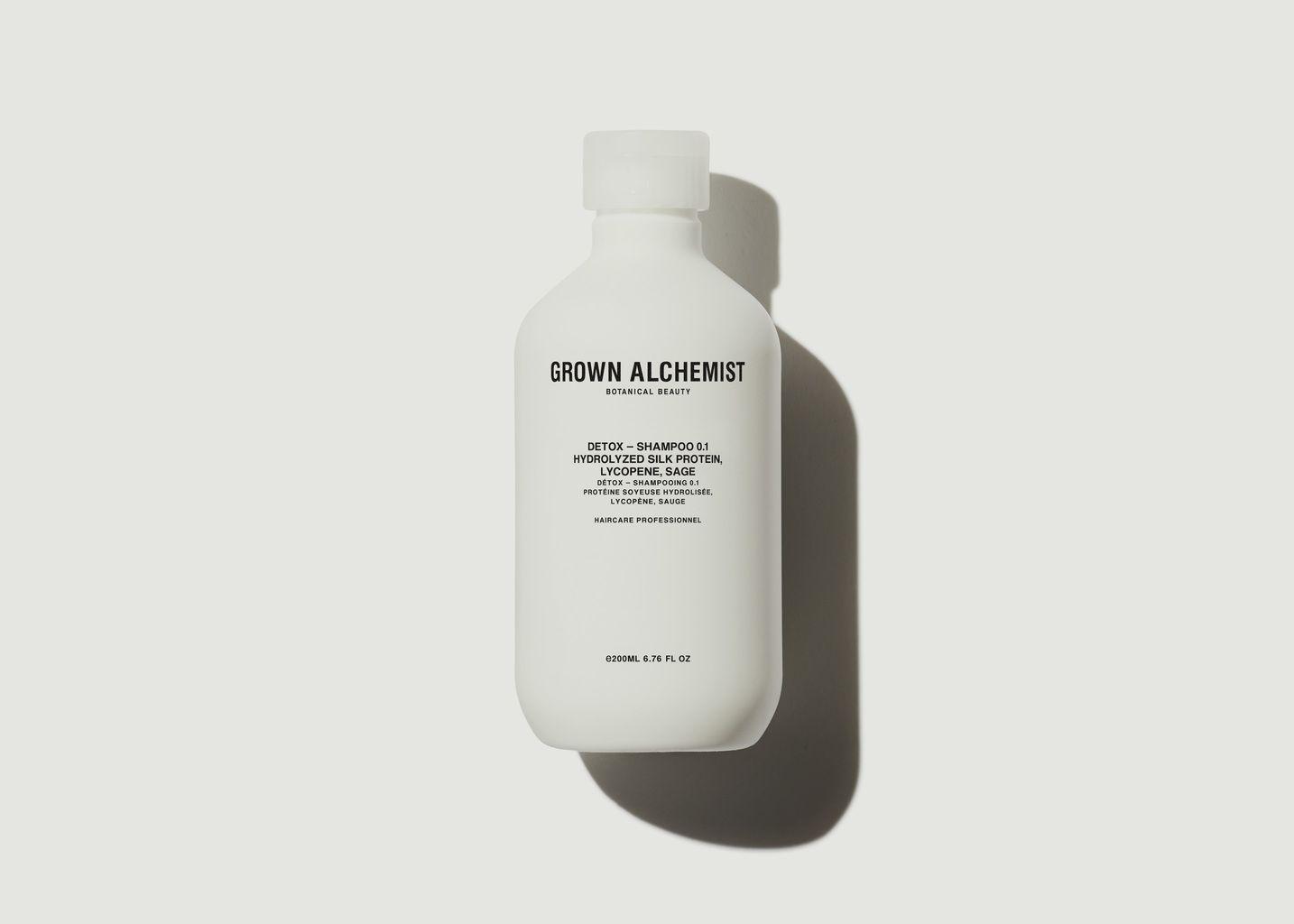 Shampoing Détox 0.1 500ml - Grown Alchemist