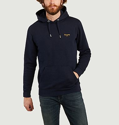 Sweatshirt à capuche Italique