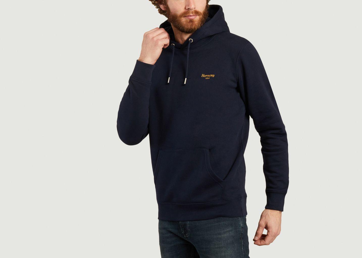 Sweatshirt à capuche Italique - Harmony