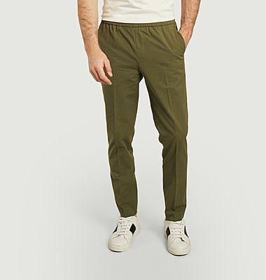 Pantalon Paolo en seersucker