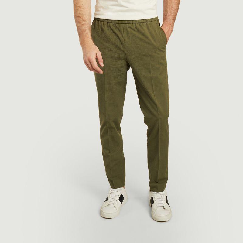 Pantalon Paolo en seersucker - Harmony