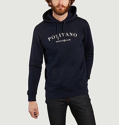 Sweatshirt à capuche Positano Tennis Club