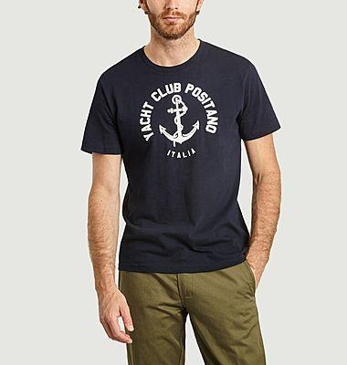 T-shirt imprimé Yacht Club Positano Italia
