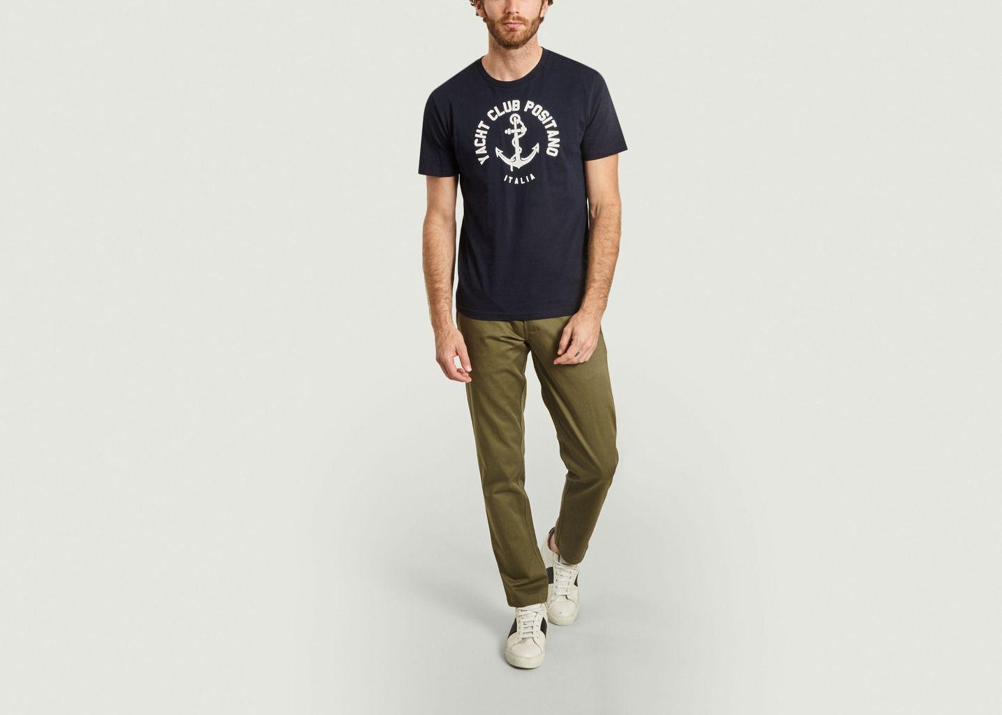 T-shirt imprimé Yacht Club Positano Italia - Harmony