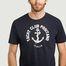 matière T-shirt imprimé Yacht Club Positano Italia - Harmony