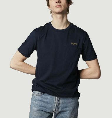 T-shirt Teddy Cursive