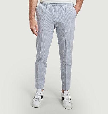 Pantalon Paolo imprimé rayures