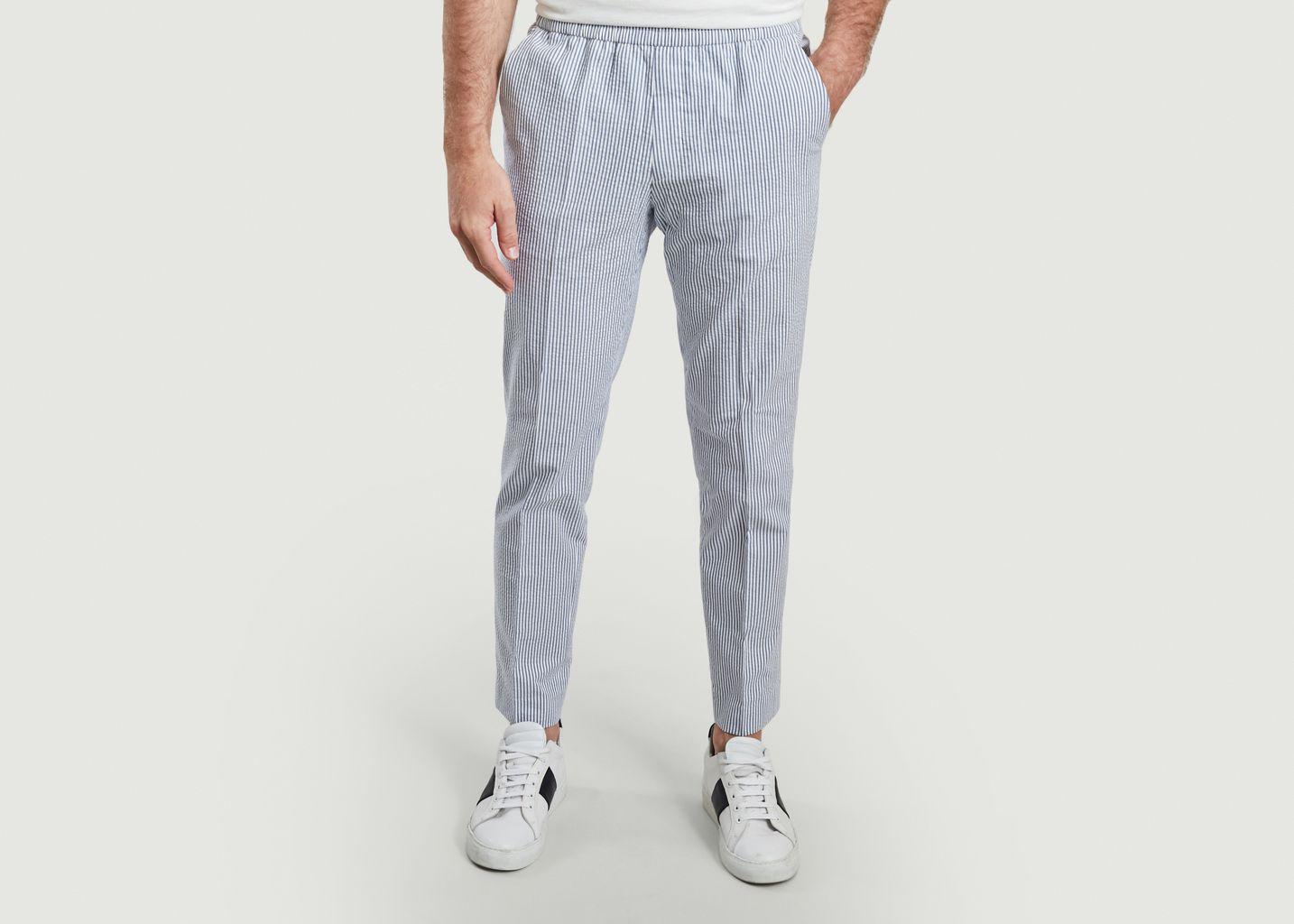 Pantalon Paolo imprimé rayures - Harmony