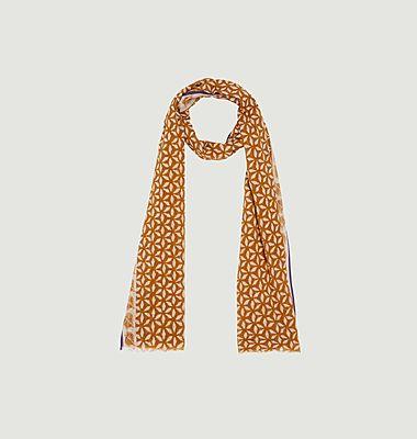 Fancy pattern cotton scarf