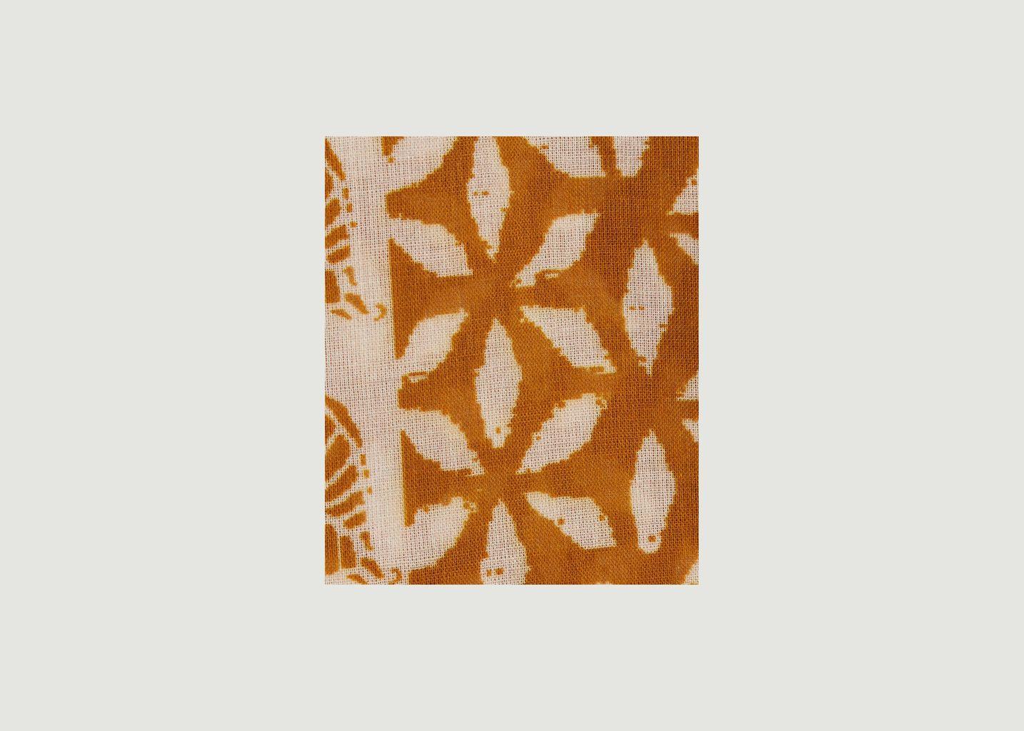 Echarpe en coton motif fantaisie - Hartford