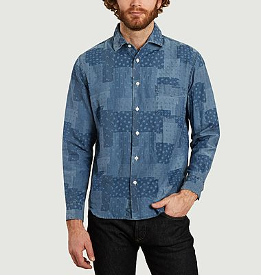 Chemise Patch Chambray