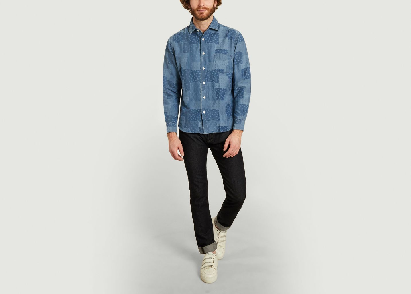 Chemise Patch Chambray - Hartford