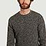 matière Pull en laine shetland - Hartford