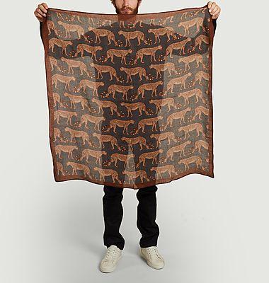 Echarpe léopard