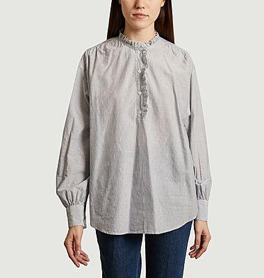 Chemise rayée oversize Camilla
