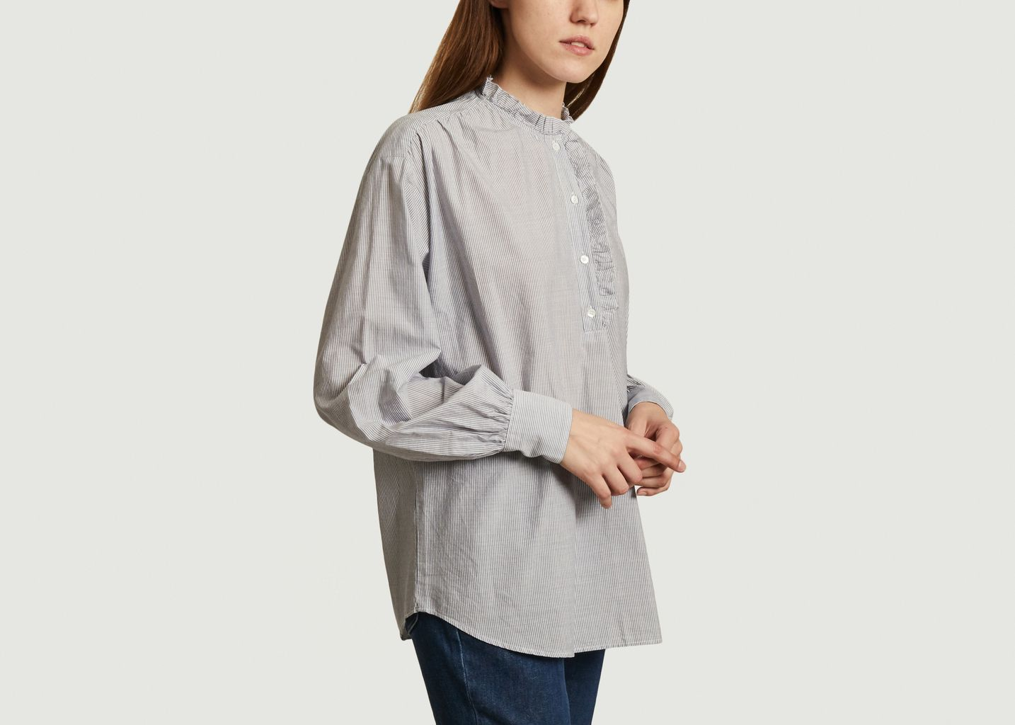 Chemise rayée oversize Camilla - Hartford